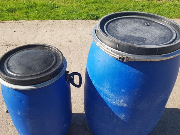 Abfallbehälter für Speiseöle und -fette