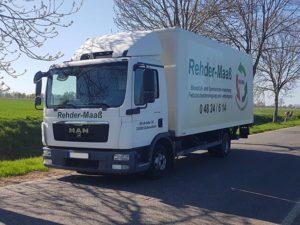 Bioabfalltransportfahrzeug